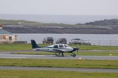 Cirrus SR22 N183BM at Isle of Man EGNS 26/10/16 (IOM Aviation Photography) Tags: cirrus sr22 n183bm isle man egns 261016