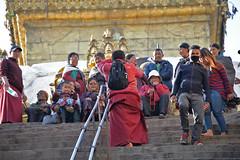 DSC_3411monkphoto (BasiaBM) Tags: swayambhunath monkey temple kathmandu nepal