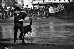 Santiago de Chile (Alejandro Bonilla) Tags: santiago chile street city urban black manuelvenegas monocromo monocromatico ciudad calle chilenos bw blancoynegro bn blackandwhite blanconegro minolta