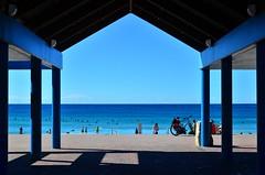 Maroubra surf pavilion (deeptone_pics) Tags: beach surf ocean maroubrabeach maroubra sydney water blue symmetry