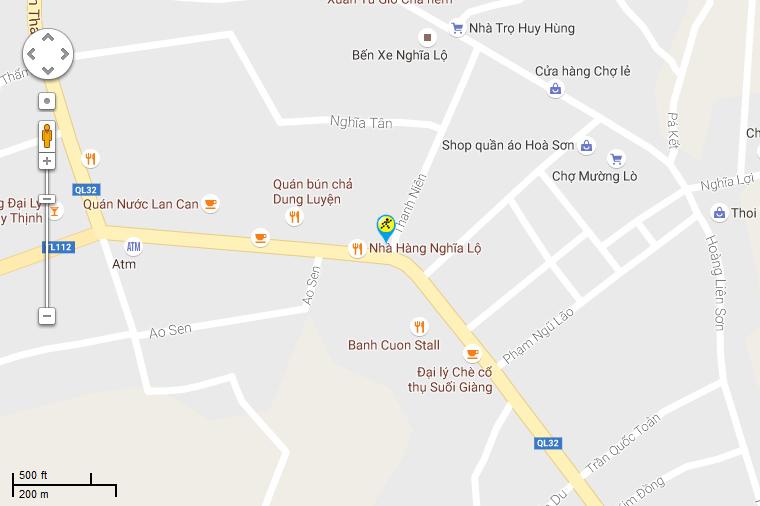 Khai trương siêu thị Điện máy XANH Nghĩa Lộ, Yên Bái