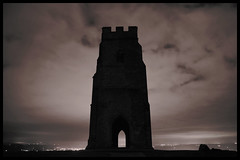 Glastonbury Night.  Explored November 14th 2016. (Vide Cor Meum Images) Tags: mac010665yahoocouk markcoleman markandrewcoleman videcormeumimages vide cor meum nikon d750 glastonburytor glastonbury somerset spiritualism religion pagan celtic england english tower st michael night long exposure hill