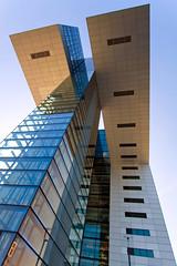 Kranhaus (ohank1951) Tags: lines reflections glass geometry geometrie facade abstract kranhaus architecture btr bothe richter teherani rheinauhafen keulen köln cologne canoneos1100d efs1022mmf3545usm
