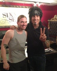 An On This Day 4 years ago @TheBrentSmith and @NikkiSixxpixx photo #Shinedown #SixxAM #BrentSmith #NikkiSixx (ShinedownsNation) Tags: shinedown nation shinedowns zach myers brent smith eric bass barry kerch