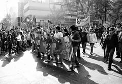 Santiago de Chile (Alejandro Bonilla) Tags: santiago protest chile street monocromo monocromatico