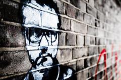 Damien (Sean Batten) Tags: london england unitedkingdom gb damienhirst graffiti wall nikon df 35mm artist city urban streetart