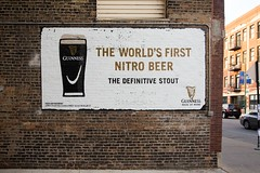 Guinness (Always Hand Paint) Tags: c017 guiness guinesscomplete ooh outdoor colossalmedia alwayshandpaint skyhighmurals advertising colossal handpaint mural muraladvertising beer