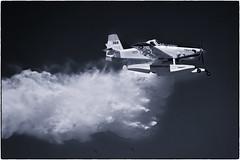 Fireboss demonstration Scone Airport (cupitt1) Tags: water fire bushfire fireboss aerial bombardment aircraft aeroplane bomber blackandwhite sconenswaustralia pay
