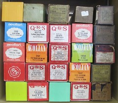 Player Piano Rolls (TedParsnips) Tags: playerpiano music musicrolls piano thriftstore aeolian qrs pianoroll pianorolls