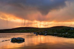 When the Devil's loose (pauldunn52) Tags: sunrise loch host north uist outer hebrides scotland