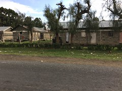Naivasha - houses of flower farm workers