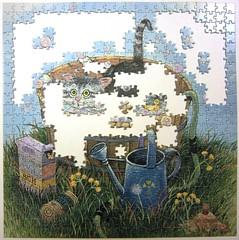 Bath Time (Gary Patterson) (Leonisha) Tags: puzzle jigsawpuzzle unfinished