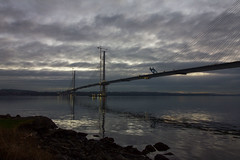 New Forth Crossing, December 2016 50 (Bill Cumming) Tags: fife forth riverforth newqueensfewrrycrossing bridge sunset gloaming
