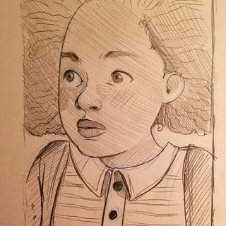 #sketch#sketchbook #she