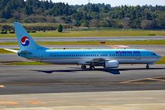 HL7724 Boeing 737-9B5 KAL  NRT (Jetstar31) Tags: hl7724 boeing 7379b5 kal nrt