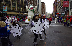 Snowflakes On Parade (swong95765) Tags: parade costumes crowds fanfare festivities people snowflake happy fun