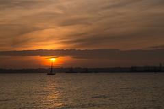 Southampton Water (hutchyp) Tags: sun set sunset fawley warsash waterfront southampton water hampshire clouds sky goldenhour