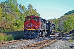 CN 8810 at Wadhams (ERIE1960) Tags: railroad railfan trains emd locomotive canadiannational