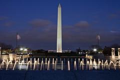 WWII Memorial & Washington Monument  (2) (smata2) Tags: washingtonmonument washingtondc dc nationscapital canon