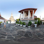 360º outside Wat Arun, Bangkok thumbnail