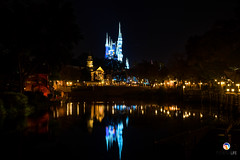 Florida Life: Magic Kingdom (Thncher Photography) Tags: sony a7r2 sonya7r2 ilce7rm2 sonyfe2870mmf3556oss fx fullframe scenic landscape waterscape nightscape nightphotography shadows silhouettes reflections disneyworld magickingdom orlando florida centralflorida