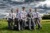 Men (LionArt1970) Tags: wedding bestman groom boys men shirts tie car oldcar sky canon