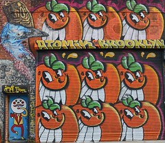 . (SA_Steve) Tags: bushwick brooklyn bushwickny brooklynny nyc art mural streetart creative graffiti color colors colour colours colorful atomik