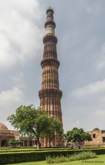 DSC5602 Qutub Minar, ao 1199, Delhi (Ramn Muoz - ARTE) Tags: delhi india qutub minar