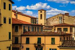Lucca (Arutemu) Tags: lucca toscana italy it italia italien italian city cityscape view ville vista europe european renaissance medieval street scenic scene light landscape tuscany tuscan canon canon6d eos6d 6d tamron tamron28300