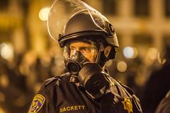 Oakland (Thomas Hawk) Tags: chp california californiahighwaypatrol eastbay johannesmersehle oakland oaklandriots oaklandriots2010 oscargrant usa unitedstates unitedstatesofamerica cop cops gasmask oaklandca070810 police protest riot riots fav10 fav25 fav50
