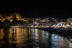 Parga at night (bernd obervossbeck) Tags: nightshot greece griechenland nachtaufnahme parga epirus ipirus griechischesfestland mainlandofgreece