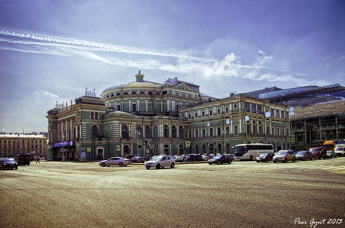 Mariinsky Theater. Saint-Petersburg. Мариинский театр. Санкт-Петербург. ©  Peer.Gynt