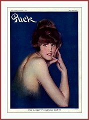 1914 December 5,  Cover of PUCK  - 'The Latest in Evening Gowns'  - by Walter Dean Goldbeck (carlylehold) Tags: art robert by vintage magazine illustrated cover puck 1914 haefner robertchaefner