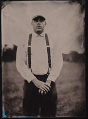 Will - Franklin Farriers (BlakeWylie) Tags: analog photography franklin tn nashville baseball tennessee tintype ambrotype wetplate largeformat alternative 5x7 wpc vintagebaseball collodion alumitype