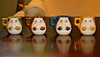 Mustache Mugs! (A Great Capture) Tags: silly mugs funny colorful faces character novelty colourful kc mustache 1970s porcelain ald characture ash2276 ashleyduffus wwwkempscollectiblescom kempscollectibles