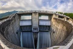 Fontana Dam Spillway (Frank Kehren) Tags: canon dam northcarolina spill f11 tva 815 hydroelectric tennesseevalleyauthority fontanadam canoneos5dmarkii ef815mmf4lusm canonef815mmf4lusm spillgate spillpipe