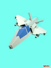 Saita (Tribute Nnenn) (ZetoVince) Tags: greek lego space aircraft vince scifi saita starfighter zeto nnenn zetovince