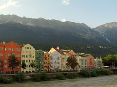 Innsbruck, Austria (CLAUDIA COTA) Tags: sky alps water clouds river austria landscapes tirol europa innsbruck