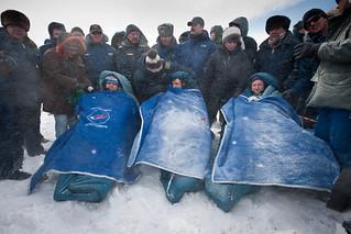 Expedition 26 Soyuz Landing