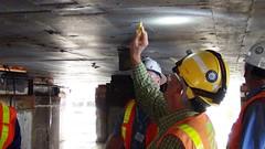 July 18, 2013 - WSDOT inspectors identify cracks on Pontoon W (WSDOT) Tags: wsdot washingtonstatedepartmentoftransportation sr520 stateroute520 floatingbridge construction pontoon kiewit jw pontoonrepairs
