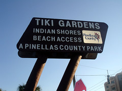 Tiki Gardens Sign