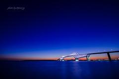 TGB-Sunset #maps524 (524select) Tags: blue sunset sea sky japan landscape bay twilight nikon fuji mtfuji d7000