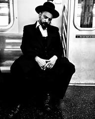 """Requiem for an Aching Heart"" (Sion Fullana) Tags: nyc urban blackandwhite bw newyork blancoynegro hat underground subway beard sadness metro religion streetshots streetphotography cellphone bodylanguage jewish melancholy society allrightsreserved newyorkers newyorklife blancinegre fingerscrossed melancholic newyorksubway hassidic hassid urbanshots urbannewyork mobilephotography ©sionfullana judíoortodoxo throughthelensofaniphone fotografíamóvil"