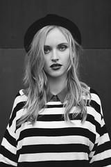 jana (elena.strawberry) Tags: red girl beauty hair model hole teeth elite be jana