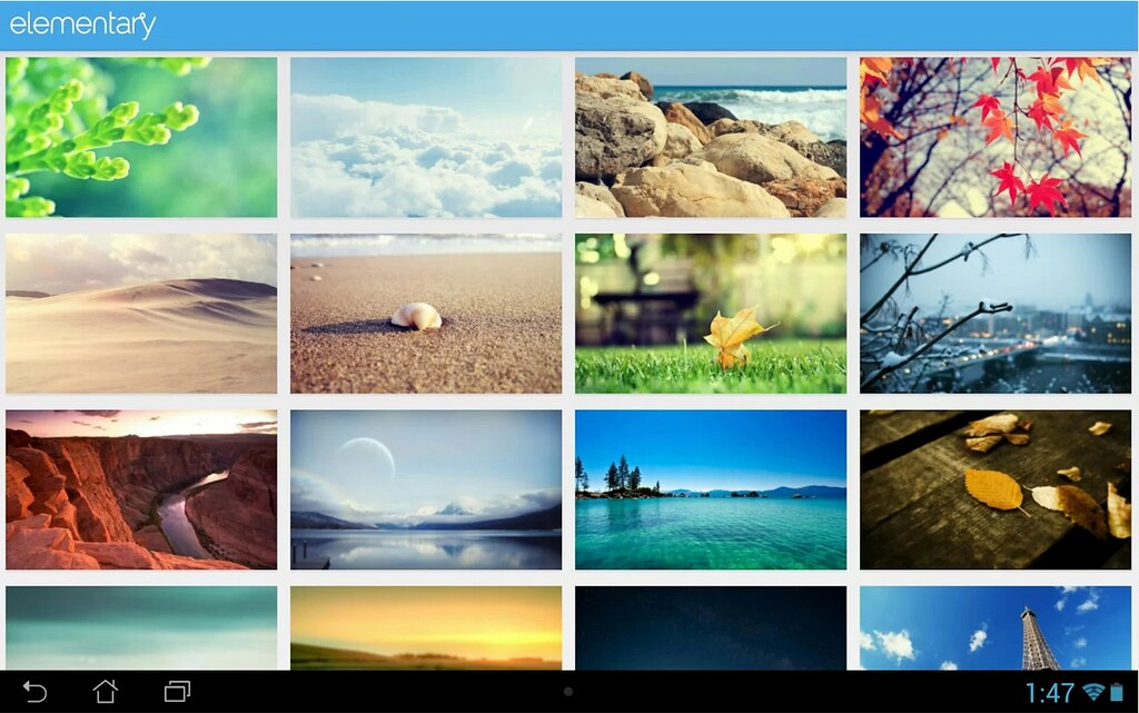 wallpapers de elementary os android app