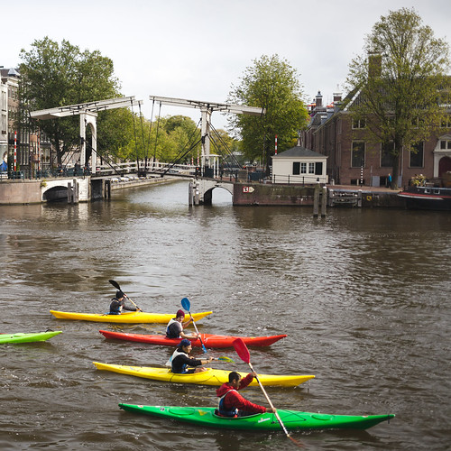 Kayaks on a Gracht by lennox_mcdough, on Flickr