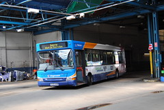Stagecoach Mansfield 33836 (Hesterjenna Photography) Tags: travel bus coach pointer transport passengers transit dart stagecoach mansfield psv plaxton dennisdart stagecoacheastmidlands x836akw