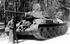 """Tank T-34 (47) • <a style=""""font-size:0.8em;"""" href=""""http://www.flickr.com/photos/81723459@N04/10322799593/"""" target=""""_blank"""">View on Flickr</a>"""