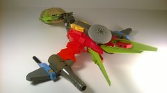 """QU-0 """"Pecko"""" Luxury Fighter (Captain Herffenblerf) Tags: lego space scifi spaceship starfighter"""