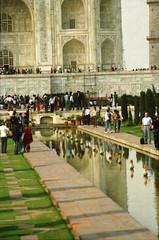 Taj Mahal Agra Uttar Pradesh India Feb 1990 067 (photographer695) Tags: taj mahal agra uttar pradesh india feb 1990